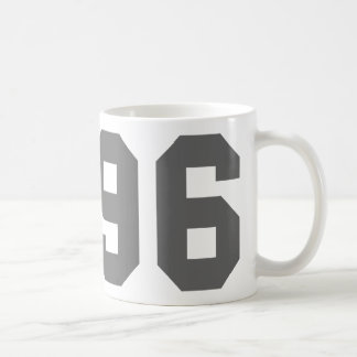 Born in 1996 coffee mug