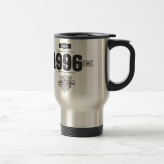 Born in 1996 (Dark&Lightgrey) Travel Mug