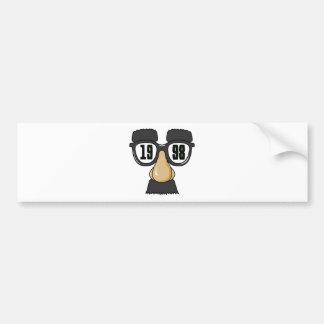 Born in 1998 car bumper sticker
