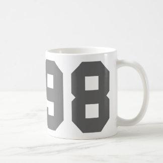 Born in 1998 coffee mug
