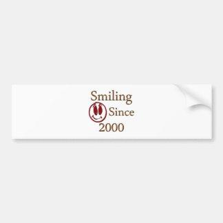 Born in 2000 bumper sticker