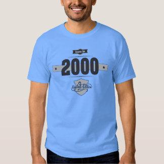 Born in 2000 (Dark&Lightgrey) T-shirt
