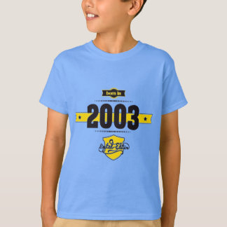born in 2003 (choco&yellow) T-Shirt