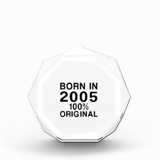 Born In 2005 Acrylic Award