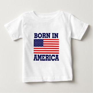 BORN IN AMERICA INFANT T-SHIRT