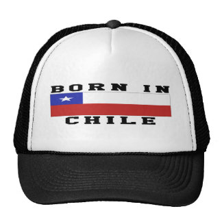 Born In Chile Mesh Hats