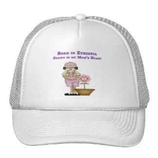 Born in Ethiopia Grown in my Mom's Heart Trucker Hat