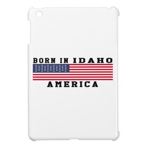 Born In Idaho iPad Mini Cases
