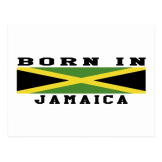 Born In Jamaica Postcard