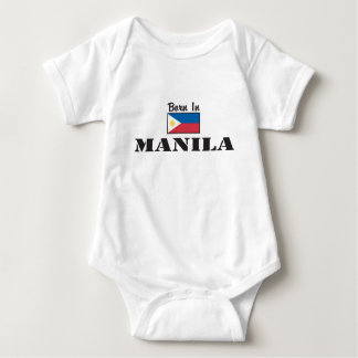 Born In Manila Baby Bodysuit
