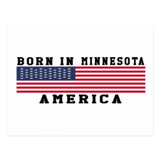 Born In Minnesota Post Cards