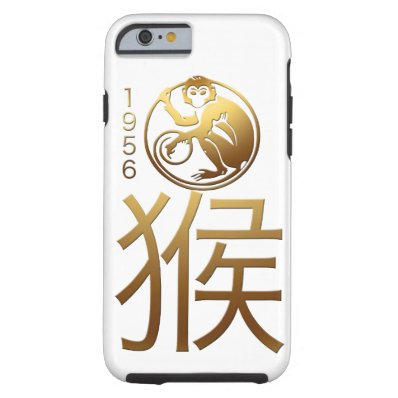 Born in Monkey Year 1956 - Chinese Astrology Tough iPhone 6 Case