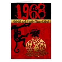Born in Monkey Year 1968 Chinese astrology Zodiac