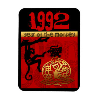 Born in Monkey Year 1992 - Chinese astrology Magnet
