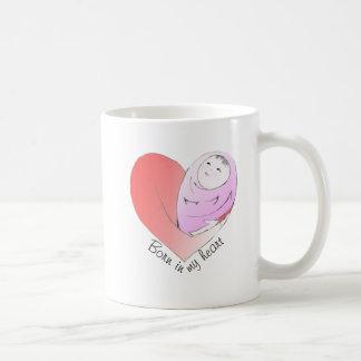 Born in My Heart China Girl mug