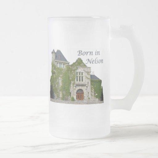 Born in Nelson: Courthouse Mug