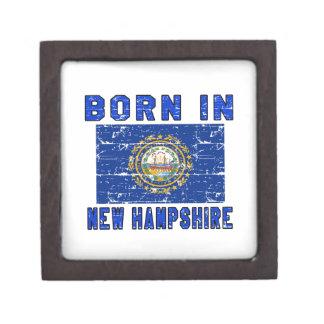 Born in New Hampshire. Premium Trinket Box