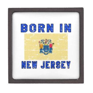 Born in New Jersey. Premium Trinket Box