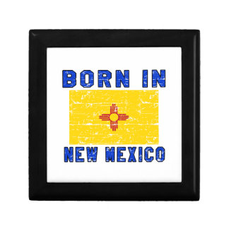 Born in New Mexico. Trinket Boxes