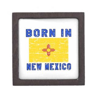 Born in New Mexico. Premium Trinket Boxes