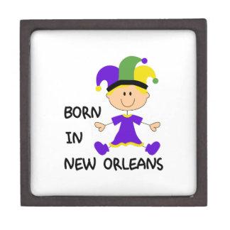 BORN IN NEW ORLEANS PREMIUM TRINKET BOXES