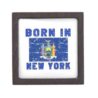 Born in New York. Premium Trinket Boxes