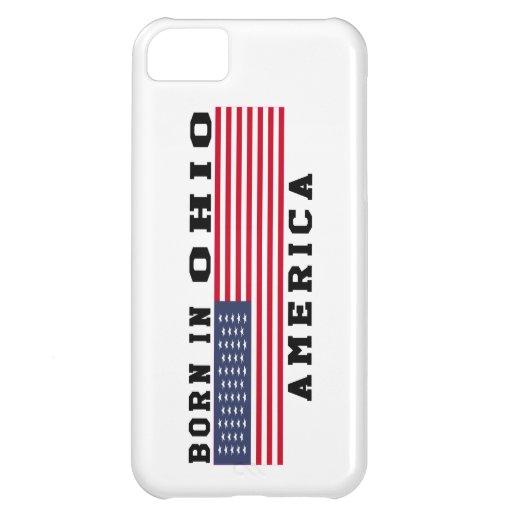 Born In Ohio Cover For iPhone 5C