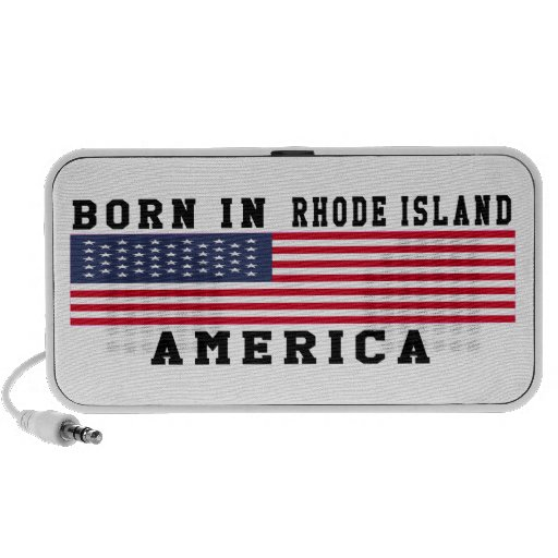 Born In Rhode Island Mini Speakers