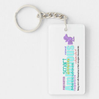 Born in Rooster Year Personality custom Keychain 2