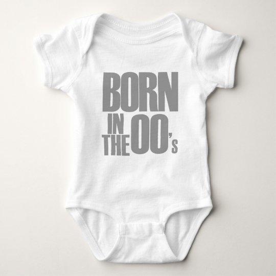 Born in the 00's baby bodysuit