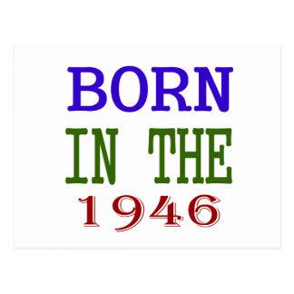 Born In The 1946 Postcard