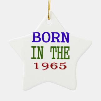 Born In The 1965 Ceramic Ornament
