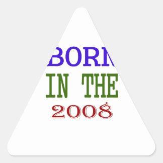 Born In The 2008 Triangle Sticker