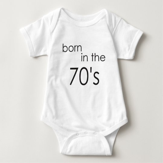 born in the 70s.png baby bodysuit