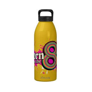"""""""Born in the 80's"""" drinks bottle Reusable Water Bottles"""