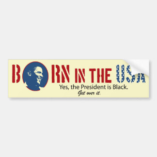 Born in the USA Bumper Sticker