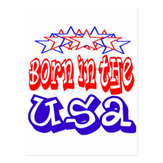 Born in the USA Cards Post Cards