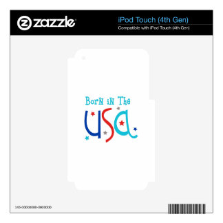 Born In The USA iPod Touch 4G Skin