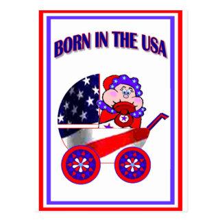 Born in the USA Postcard