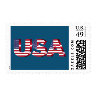 Born in the USA text Postage