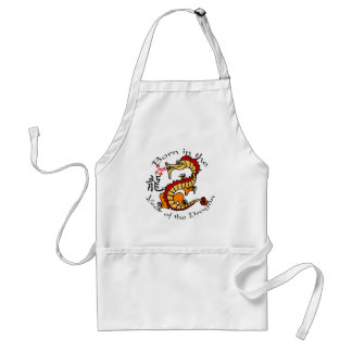 Born in the Year of the Dragon (Chinese) Adult Apron