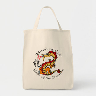 Born in the Year of the Dragon (Chinese) Tote Bag