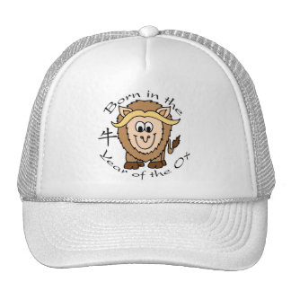 Born in the Year of the Ox Trucker Hat