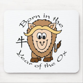 Born in the Year of the Ox Mouse Pad