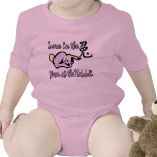 Born in the Year of the Rabbit Chinese Zodiac shirt
