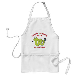 Born In The Year of The Snake 2013 Adult Apron