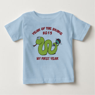 Born In The Year of The Snake 2013 Baby T-Shirt