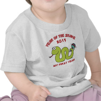 Born In The Year of The Snake 2013 Tshirt