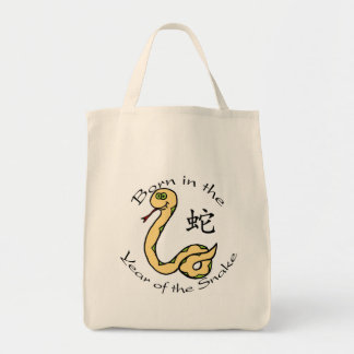 Born in the Year of the Snake (Chinese) Tote Bag