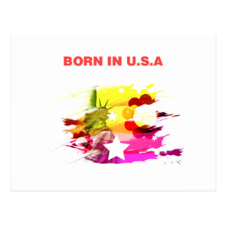 born in usa post cards